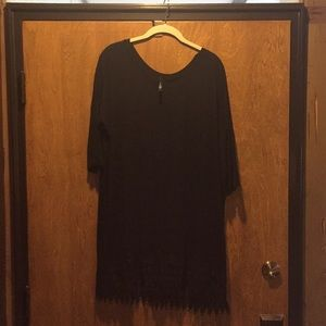 Tops - Black Tunic dress